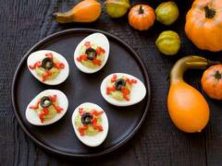 halloween food presentation