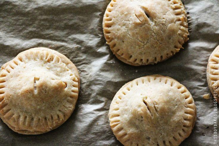 Apple Hand Pies - gluten-free, dairy-free, vegan