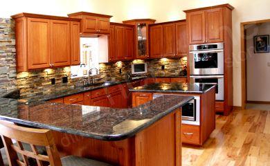 rock backsplash home improvement ideas pinterest