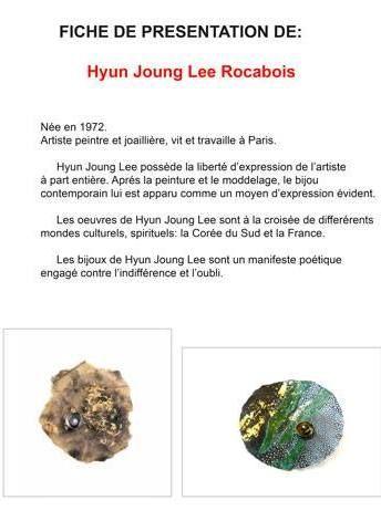 CIRCUITS BIJOUX - Totalement exquis - Hyun Joung Lee - fiche