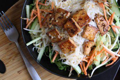 Lemongrass Tofu Noodle Bowls | Incredible Edibles | Pinterest