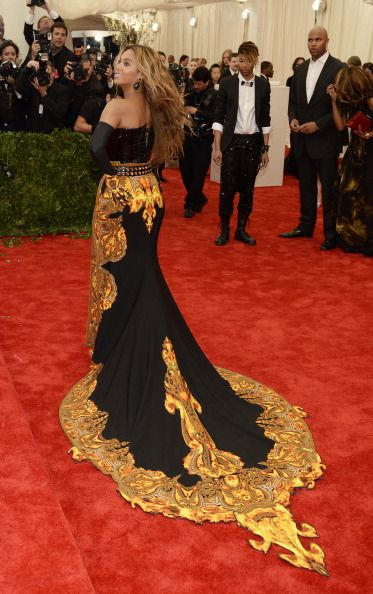 Beyonce in Givenchy at the Met Gala 2013