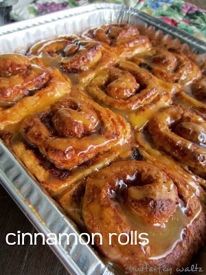 Pioneer woman's cinnamon rolls. Easy and hands down the best rolls I ...