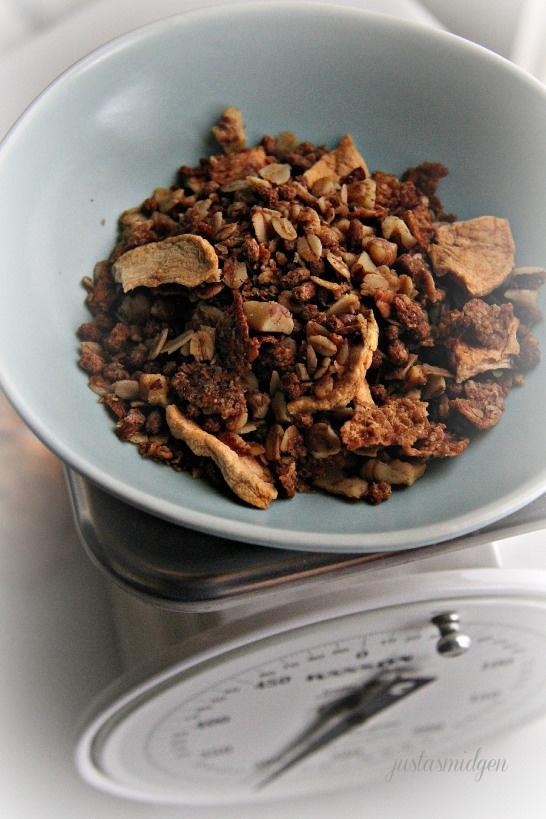 Apple Cinnamon Crisp Granola | Recipe