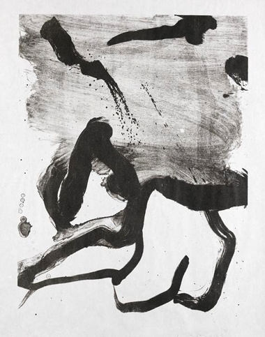 Beach Scene by Willem de Kooning (via @1stdibs) #dekooning #blackandwhite #art #lithograph
