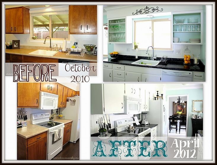 Beautiful DIY Kitchen transformation