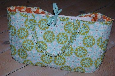 Knitting Bag Pattern Sewing : knitting bag pattern Sewing Pinterest