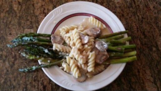 Asparagus mushroom garlic parmesan | Favorite Recipes | Pinterest