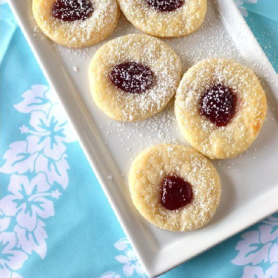 Kolacky Cookies filled with jam -- cream cheese is the secret ...