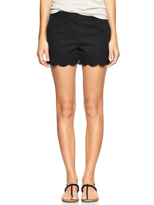 Shop the Women's 4 Scalloped Short