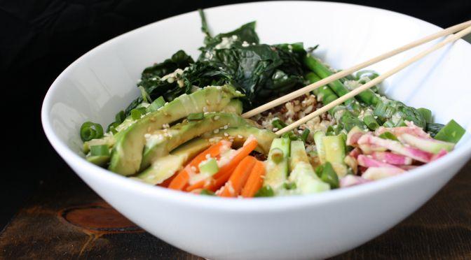 Veggie roll sushi bowl | Food Inspirations | Pinterest