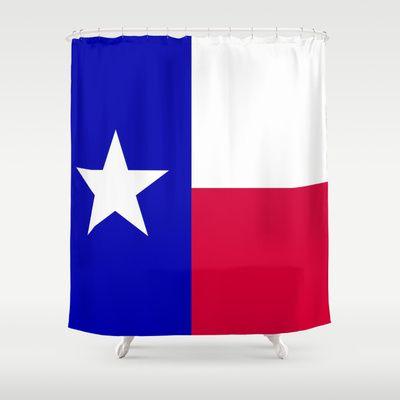 Pre Lit Curtain Panel Texas Longhorns Shower Curtain