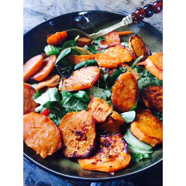 Sweet patato salad