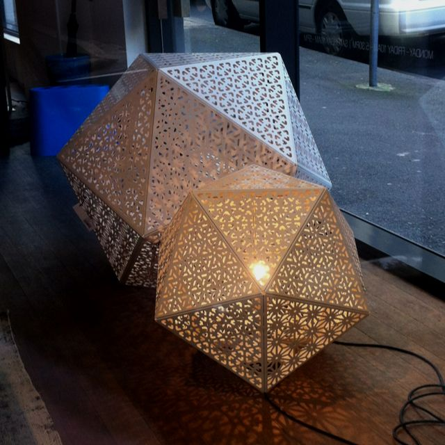 Geometrical Laser Cut Floor Lamps Australia Pinterest