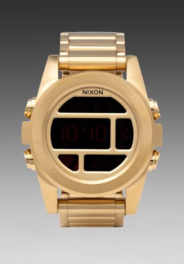 Nixon Unit SS Gold