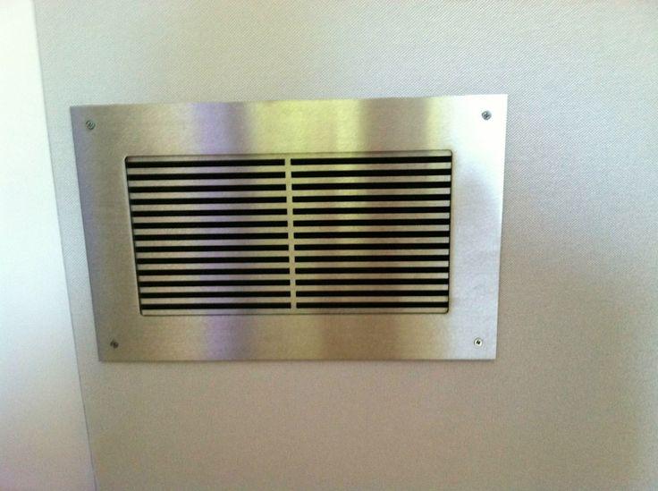 metal linear vent cover grille decorative vent covers. Black Bedroom Furniture Sets. Home Design Ideas