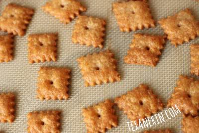 Homemade 100% Whole Wheat Cheese Crackers - even better than the ones ...