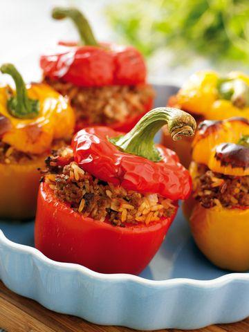 Italian Stuffed Bell Peppers - Crock Pot | Favorite, tested recipes ...