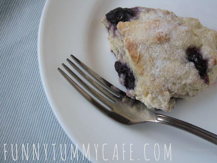 Lemon Blueberry vegan scones | Diet for Dani | Pinterest