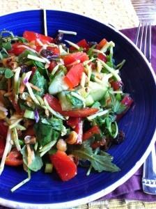 thai-inspired black rice salad. | Pasta, Potatoes, Rice, Beans | Pint ...