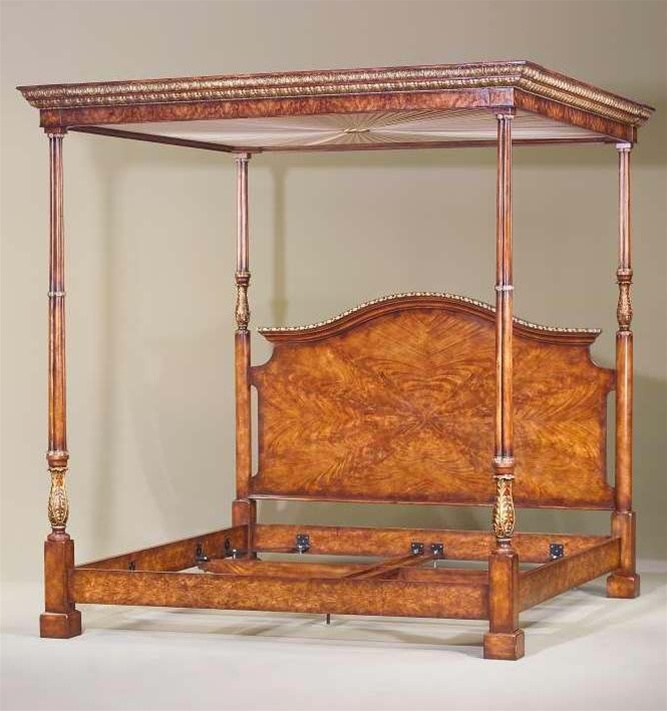 Pin by angela1915 on italian antiques and decor pinterest for High end canopy beds