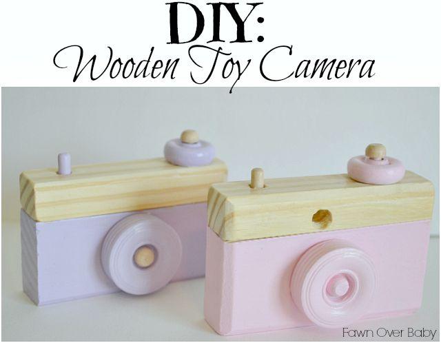 DIY Wooden Toy Camera