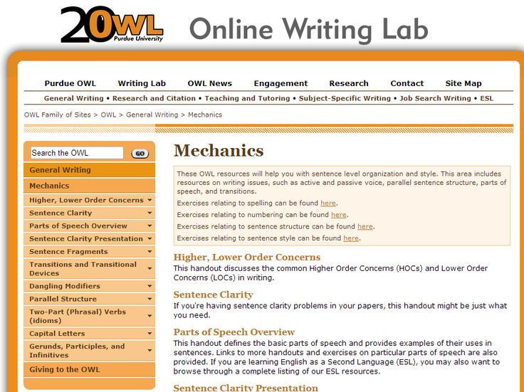 online writing laboratory The writing centers offer help in writing at all stages in the writing process approaching bristol writing center knoxville online writing lab (owl) home students.