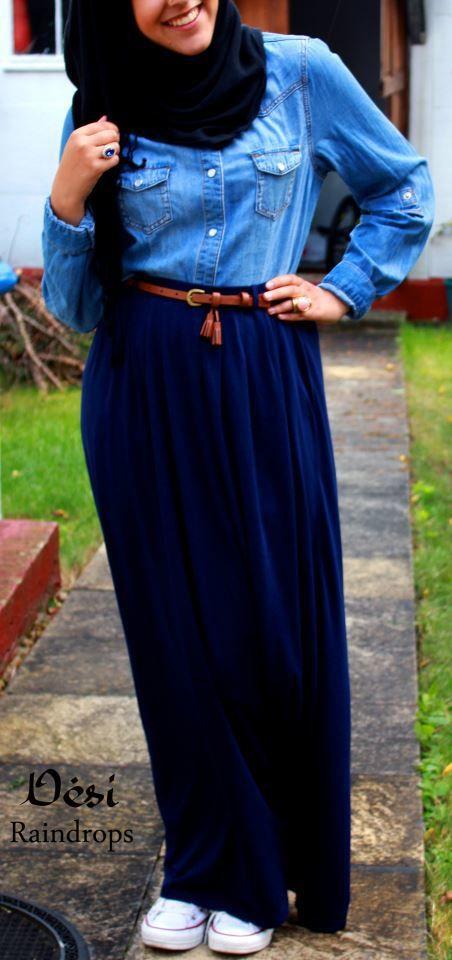 Hijab Ootd Hijabi Fashion Pinterest