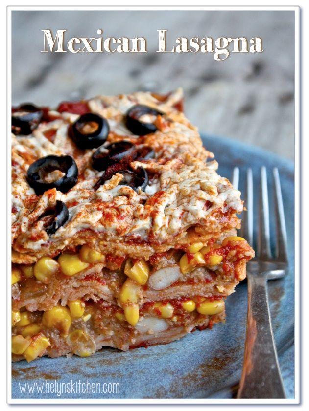 Vegan Mexican Lasagna | Best of Nature- fruits & veggies (vegan) | Pi ...