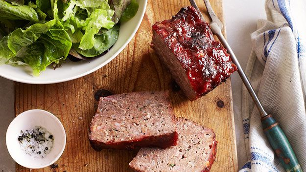 It's a bit of a family joke, Mary's meatloaf. Dad was a Sydney ...