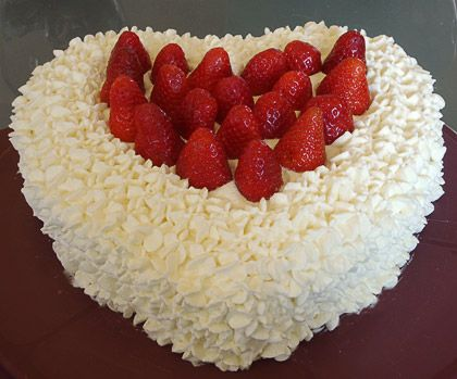STRAWBERRY TORTE | I LOVE FOOD | Pinterest