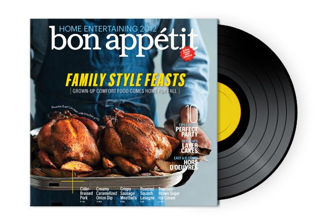 Dinner Music Playlist Fair With Bon Appetit October Issue Images