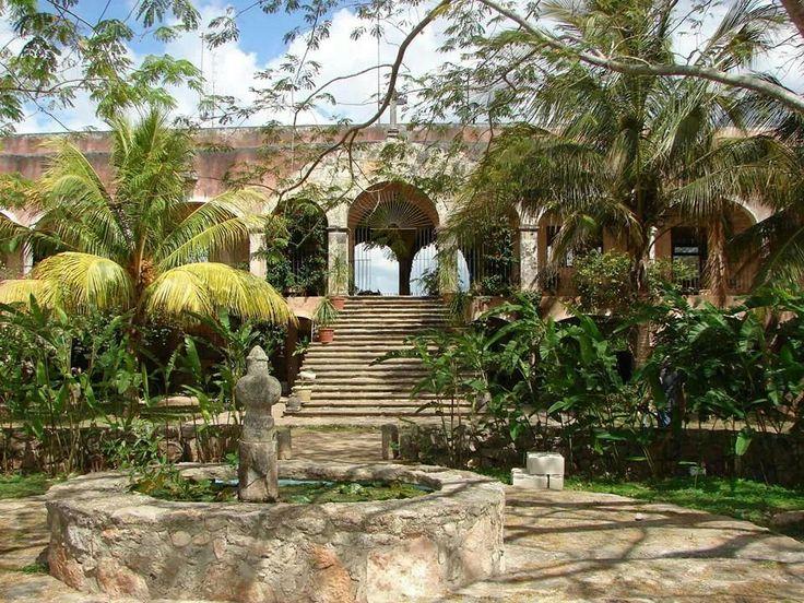 Hacienda Tepich hotel Yucatan, Mexico  Mexican Hacienda