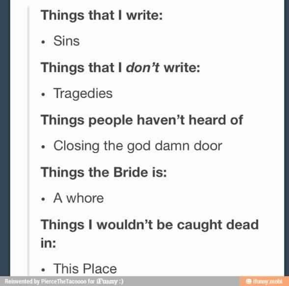 i write sins not tragedies lyrics
