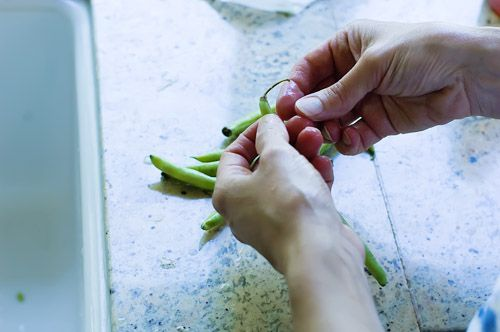 Fresh Green Beans, One Way   Recipe