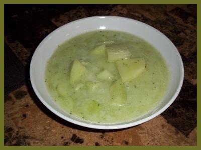 Honeydew Cucumber Soup Recipe — Dishmaps