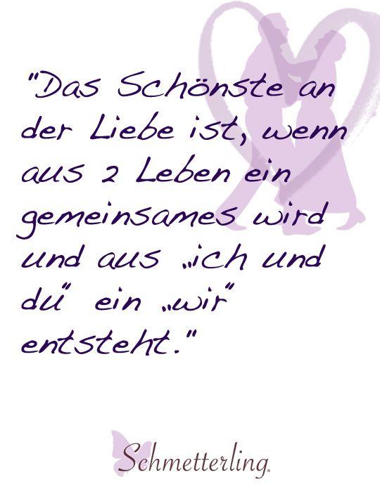 ♥ Trauspruch für die Hochzeit / schöne Zitate zum Thema Liebe ...