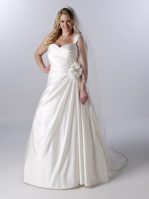 Gorgeous Gown Full Figure Bridal