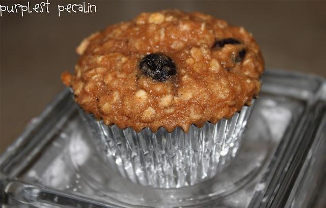 Oatmeal Blueberry Applesauce Muffins | Dessert | Pinterest