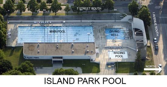 Island Park Pool Fargo Pinterest