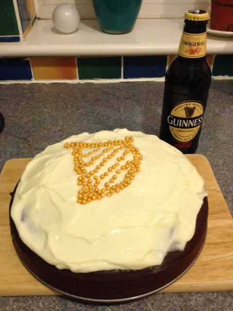Chocolate Guinness Cake, I used the Nigella Lawson recipe after trying ...
