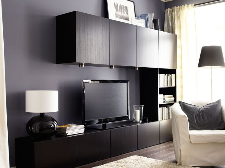 Ikea Entertainment Center Basement Ideas Pinterest