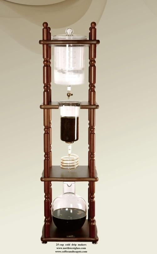 Cold Drip Coffee Maker Yama : Yama Glass Cold Drip Coffee Maker 6-8 Cups