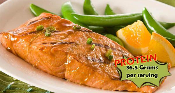 Honey Ginger Grilled Salmon recipe Tweet (function() ( var s = docume ...