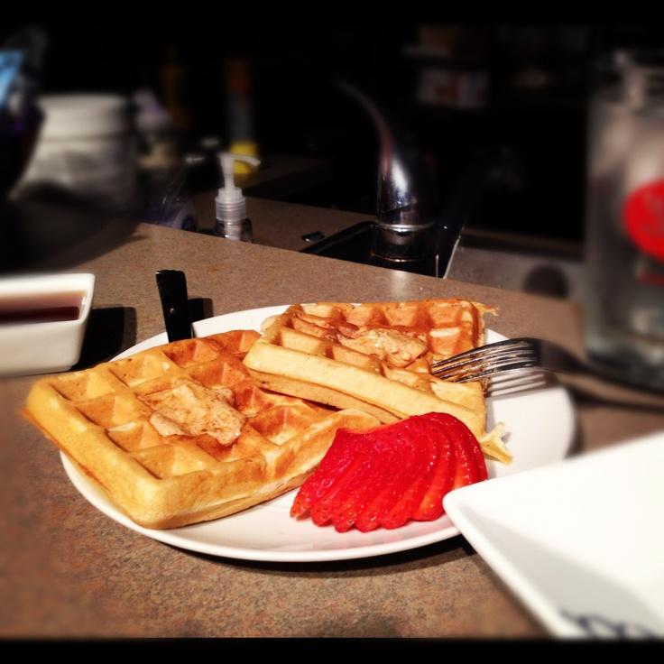 Homemade cinnamon sugar waffles | Yummy! | Pinterest