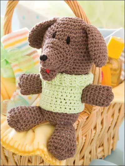 Crochet Patterns Dog Toys : Crochet Accessories - Crochet Gift Patterns - Toy Dog... I actually ...