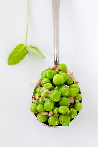 Fresh Peas with Mint | Green | Pinterest