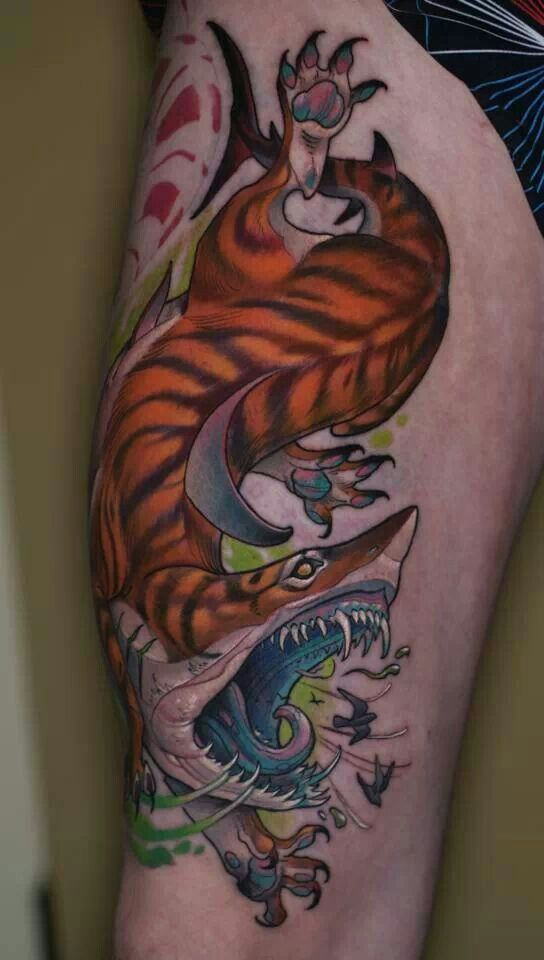 Tiger shark tattoo bad ink - photo#2
