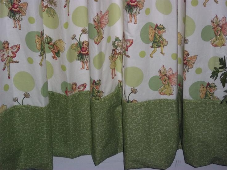 Kids Fairy shower curtain $55 | Designer Home Products | Pinterest