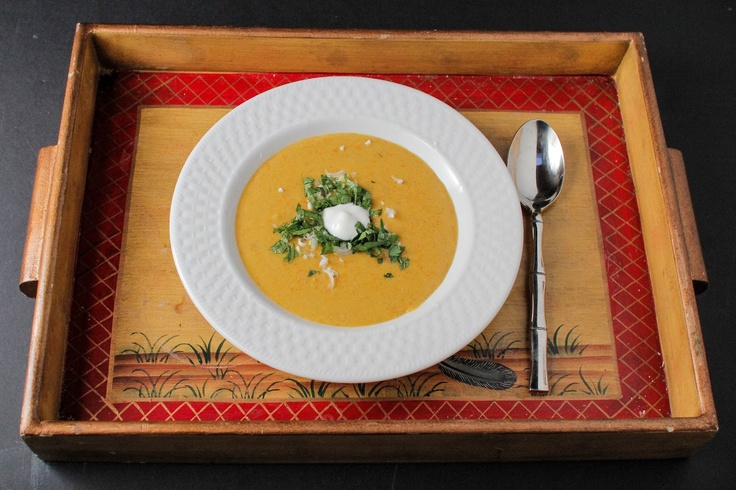 Curried Peanut Soup Recipe via The Colors Of Indian Cooking using ...